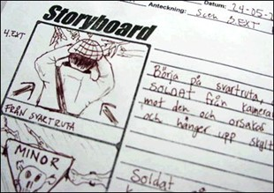 Så ritar du en storyboard för film