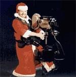God jul önskar Steadicam-tomten!