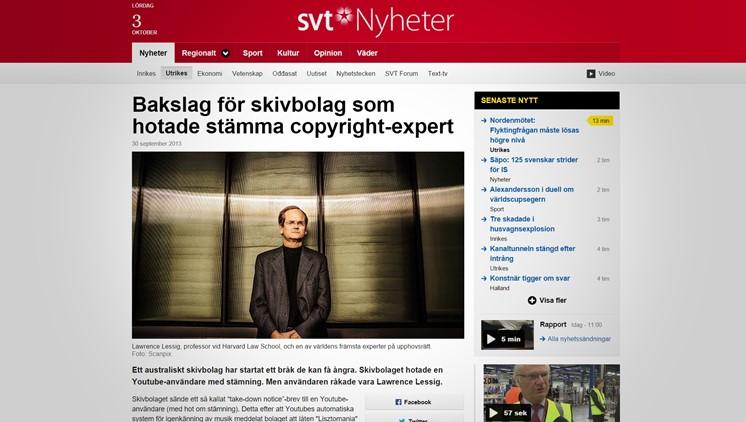 Bakslag för skivbolag som hotade stämma copyright-expert