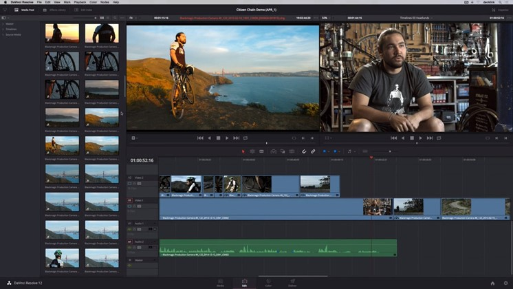 Lär dig klippa film i DaVinci Resolve