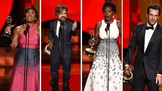 Game of Thrones stor vinnare på Emmygalan