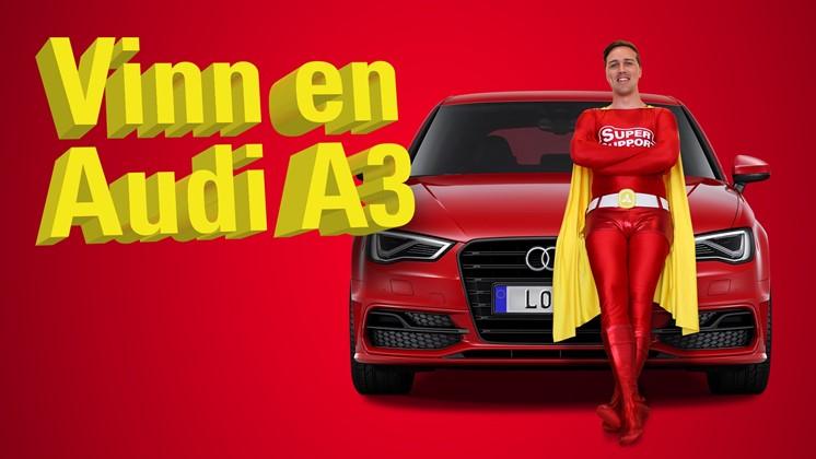 Skapa rolig reklamfilm för Loopia och vinn Audi A3