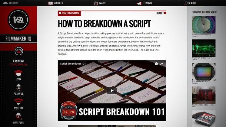 How to Breakdown a Script