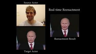 Ny forskning låter dig ta över någons ansikte