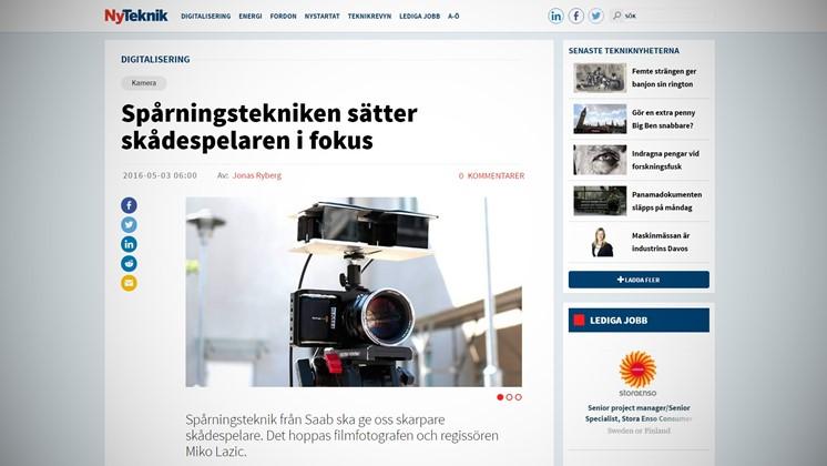 Smart autofokus ska hjälpa filmfotografen