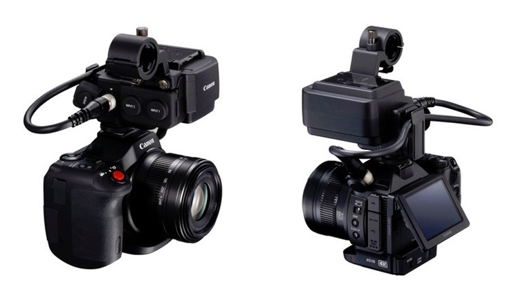 Canon XC15 – kompakt 4K-kamera med proffsljud