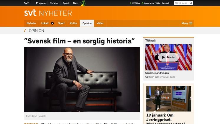 """""""Svensk film – en sorglig historia"""""""