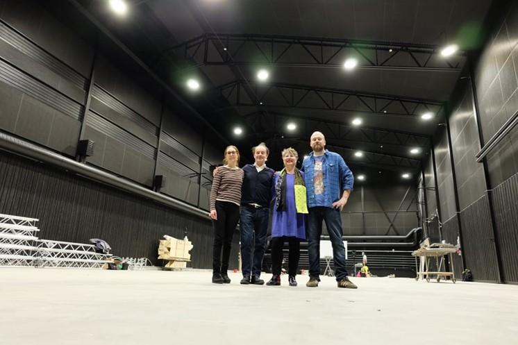 Svensk science fiction första filmen att spelas in Studio Nord