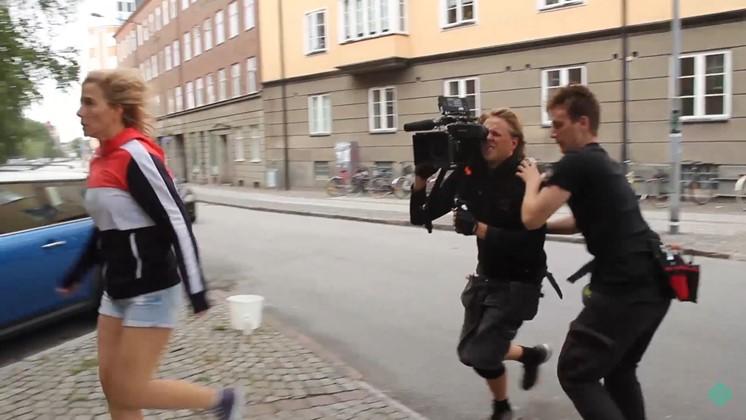 Bakom kulisserna på svenska sci-fi-filmen Bieffekterna