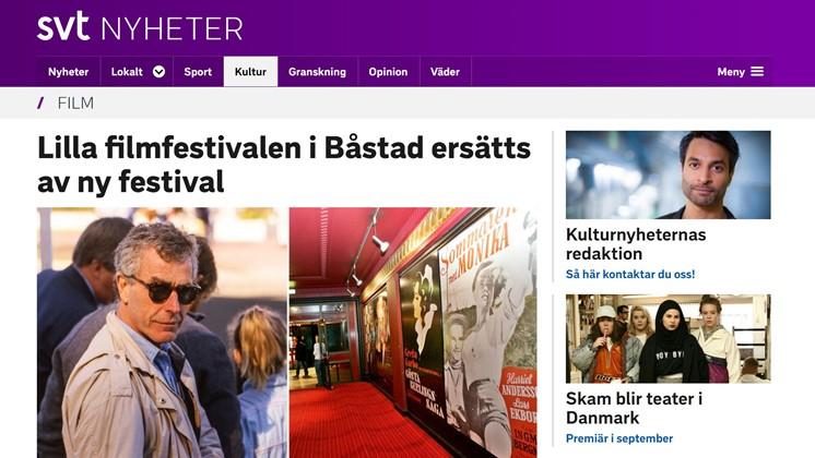 Lilla filmfestivalen i Båstad ersätts av ny festival