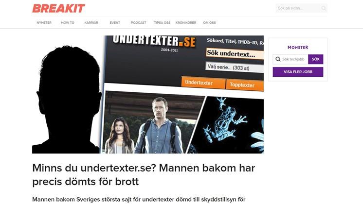 Minns du undertexter.se? Mannen bakom har precis dömts för brott
