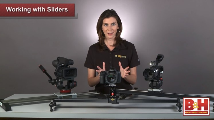 Tips för att använda sliders – enklare kameraräls på stativ