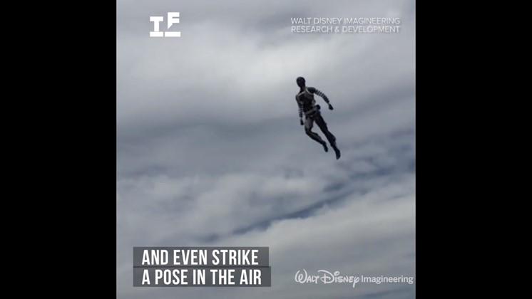 Disney använder flygande robotar för stunt