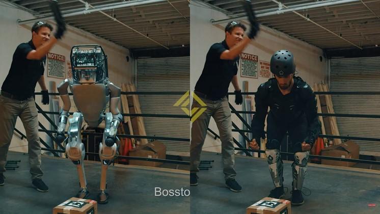 Så gjordes specialeffekterna till Boston Dynamics-parodin