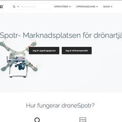 Ny tjänst för att hitta drönarpiloter i Sverige