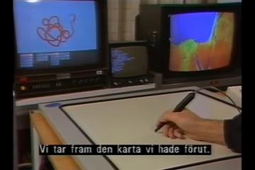 Senaste tekniken på SVT – år 1985