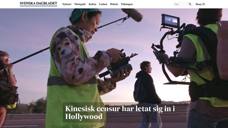 Kinesisk censur har letat sig in i Hollywood