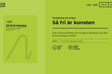 Politisk styrning och låg konstnärlig frihet hos Svenska filminstitutet