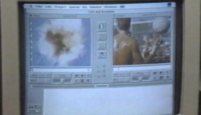 Hur Avid Media Composer såg ut 1989