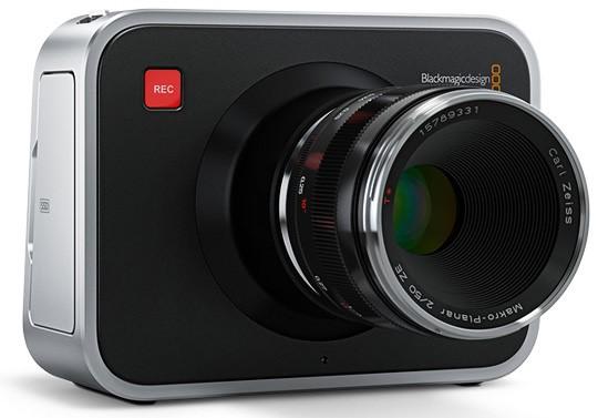 Kläm på Blackmagic-kameran i Stockholm