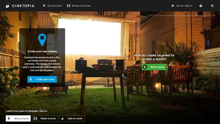 Starta filmfestival med Cinetopia eller visa din film på filmfestival