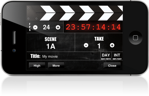 DSLR Toolkit - screen slate