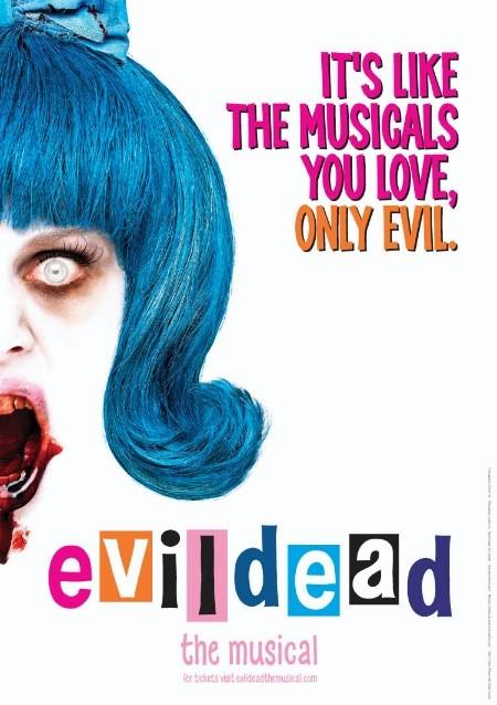 Evil Dead. Som musikal.