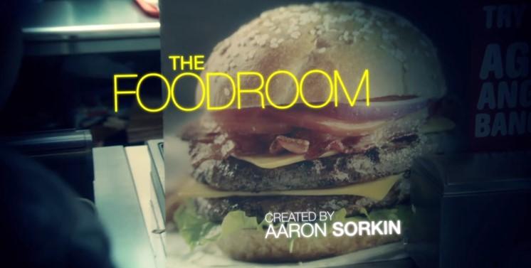 Om Aaron Sorkin skrev tv-serie om snabbmat skulle den se ut så här