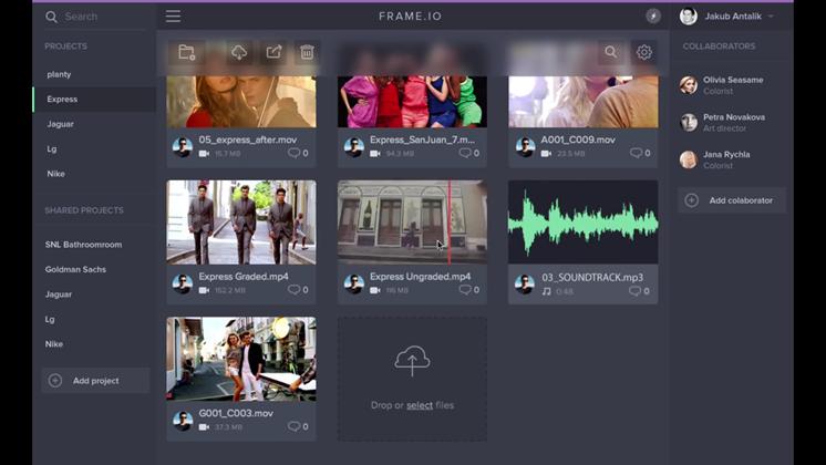 Frame.io vill ändra hur vi samarbetar kring filmproduktion online