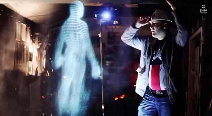 Gör ett äkta spöke med hologram