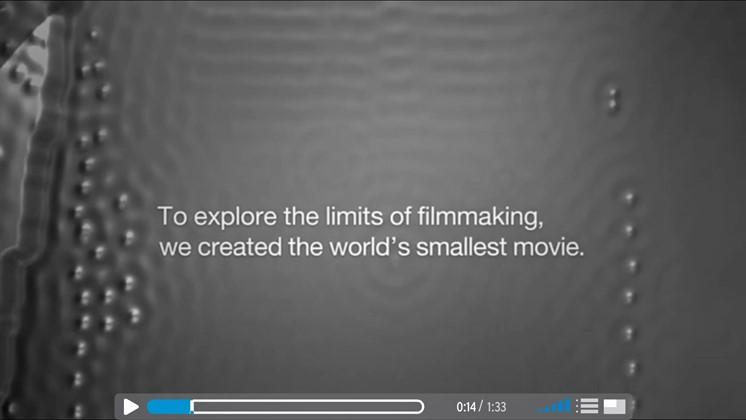 IBM gör världens minsta film - med 5 000 atomer