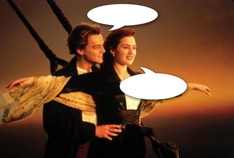 Vad säger Jack och Rose?
