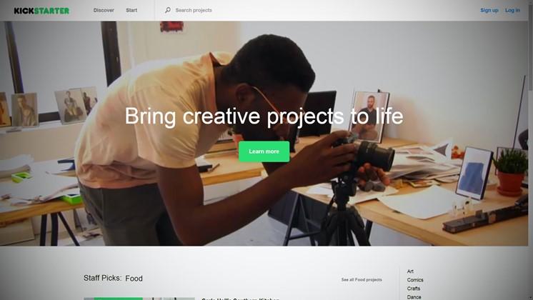 Nu öppnar Kickstarter för svenska användare