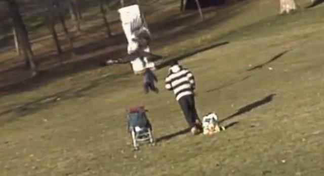 Video på örn som fångar barn gjordes av 3d-studenter
