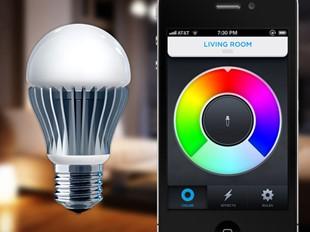 Byt färg på lampan via din smartphone