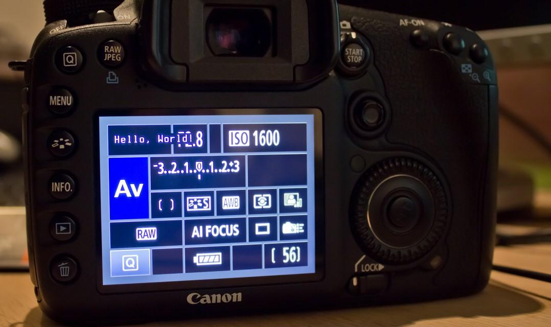 Magic Lantern kommer till Canon 7D