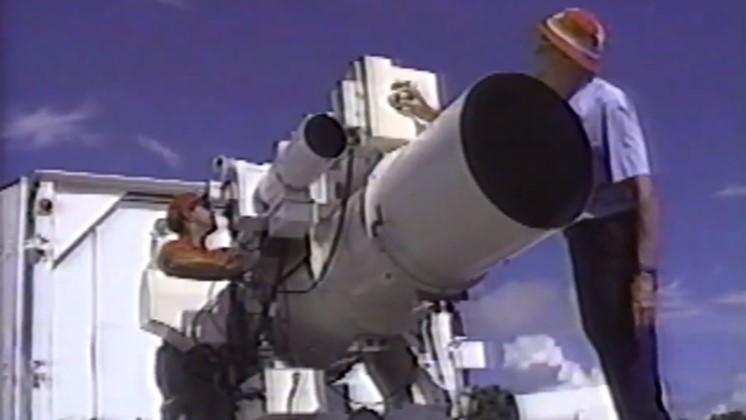 Kamerorna som Nasa använde för att filma rymdfärjorna