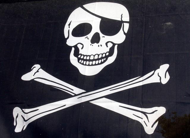 """Filmare: """"Låt inte piraterna få uppkoppling"""""""