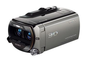 Världens första dubbla full-hd 3D-videokamera