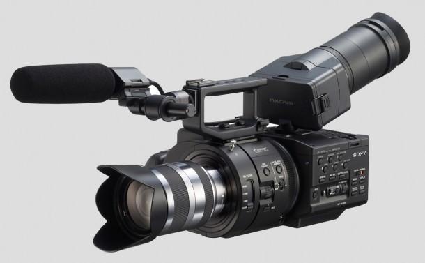 Här är Sony NEX-FS700