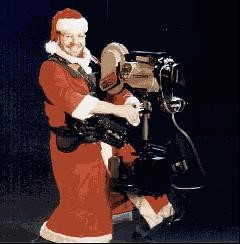God jul önskar Steadicam-tomten!