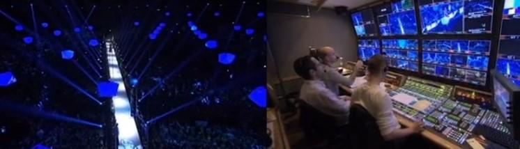 Se vad som händer bakom kamerorna på Eurovision