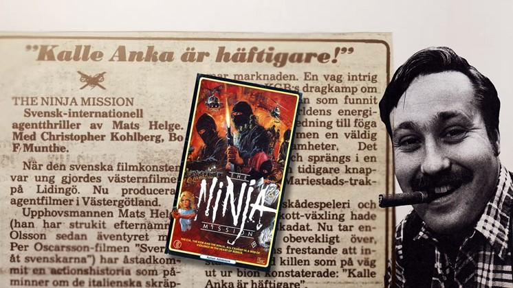 Se dokumentären om en svensk ninjaregissör