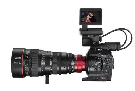 Canon tar steget in i Hollywood: Canon EOS C300