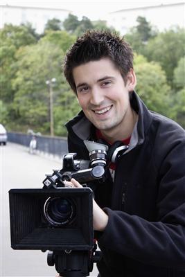 Jonas Barringer, student vid Kulturama