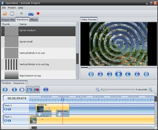 OpenShot nytt videoredigeringsprogram för Linux