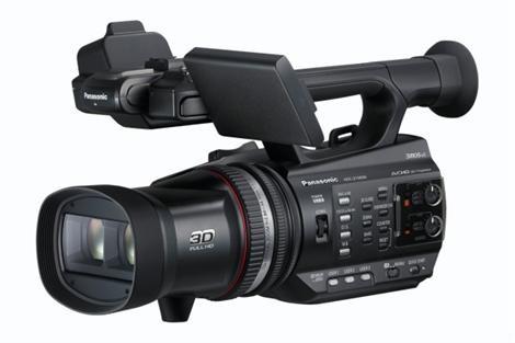 Panasonic HDC-Z10000: Växla mellan 2D och 3D