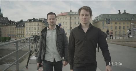 Tester av Red Epic 5K i Stockholm