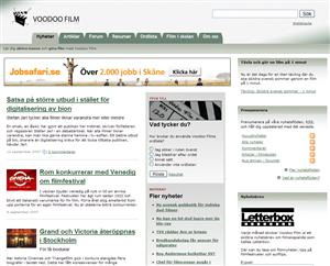 Voodoo Film blir mer lik en tidning