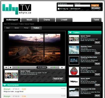 WhyTV visar filmer från oetablerade filmare